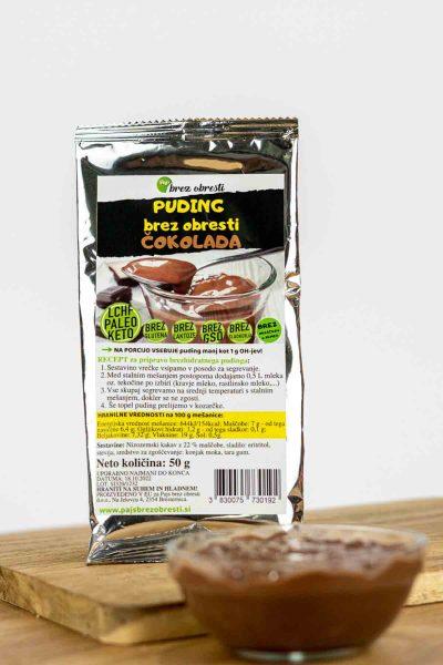 vlakninski puding čokolada keto lchf